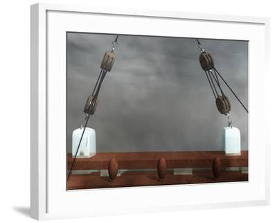 Block and Tackles-Carol & Mike Werner-Framed Photographic Print
