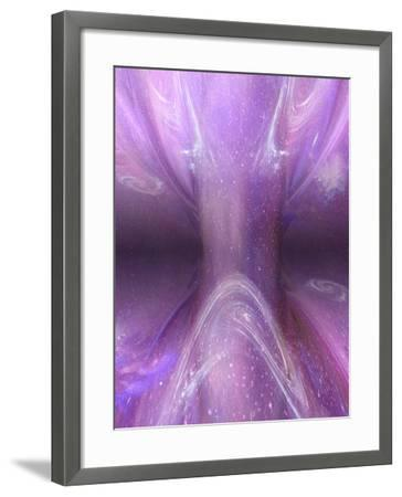 Artist's Concept of a Singularity in Space-Carol & Mike Werner-Framed Photographic Print
