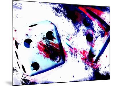 Abstract Dice Rolling Seven-Carol & Mike Werner-Mounted Photographic Print
