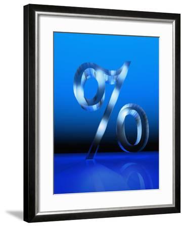 Percent Sign-Carol & Mike Werner-Framed Photographic Print