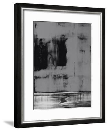 Color Field in Gray-GI ArtLab-Framed Premium Giclee Print