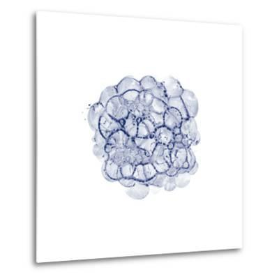 Cellular Clouds in Midnight C-THE Studio-Metal Print