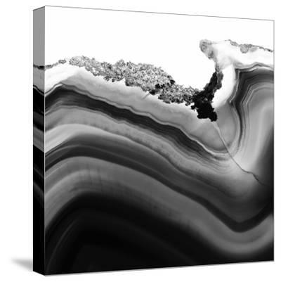 Grey Agate B-THE Studio-Stretched Canvas Print