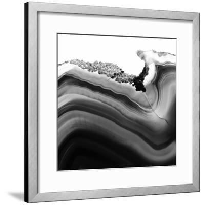 Grey Agate B-THE Studio-Framed Premium Photographic Print