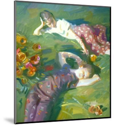 Asaro Girls-John Asaro-Mounted Premium Giclee Print
