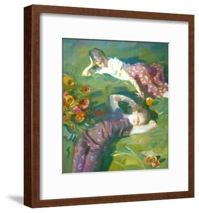 Asaro Girls-John Asaro-Framed Premium Giclee Print