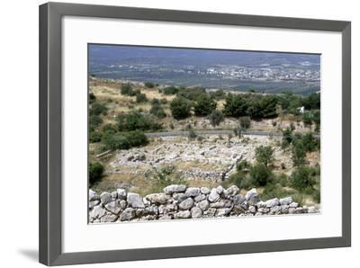 Ruins of the Prehistoric Greek City of Mycenae--Framed Photographic Print