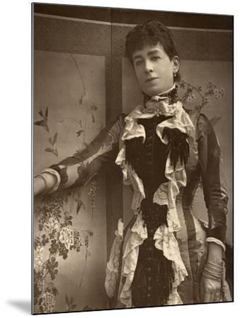 British Actress Lady Monckton in Jim the Penman, 1886- Barraud-Mounted Photographic Print