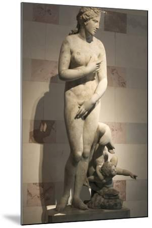 Statue of Aphrodite, Goddess of Beauty and Love--Mounted Photographic Print