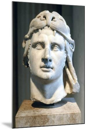Portrait Bust of Alexander the Great--Mounted Photographic Print