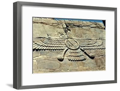 Ahura Mazda, Persepolis, C500 Bc--Framed Photographic Print