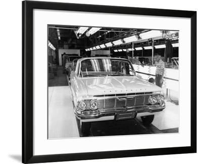 Chevrolet Assembly Line--Framed Photographic Print
