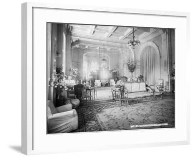 The Reception Hall, Viceregal Lodge, India, 20th Century--Framed Photographic Print