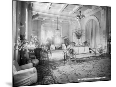 The Reception Hall, Viceregal Lodge, India, 20th Century--Mounted Photographic Print