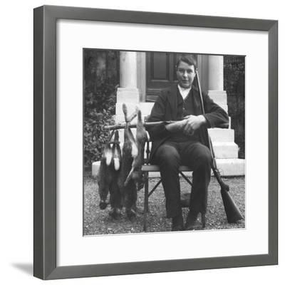 Our Bag, Early 20th Century--Framed Photographic Print
