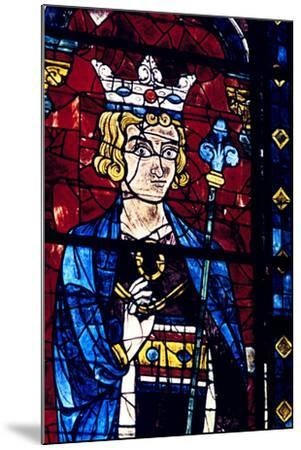 Solomon, Stained Glass, Chartres Cathedral, France, 1194-1260--Mounted Photographic Print