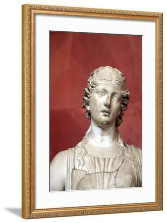 Statue of Terpsichore, Muse of Dances--Framed Photographic Print
