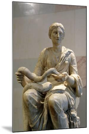 Statue of Hygieia, Goddess of Health--Mounted Photographic Print