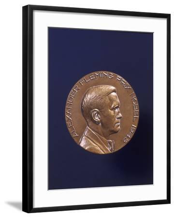 Alexander Fleming Prix Nobel 1945--Framed Photographic Print