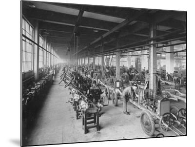 Wolseley Factory, Birmingham, C1921--Mounted Photographic Print