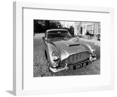 James Bond's Aston Martin DB5, Used in the Film Goldfinger--Framed Photographic Print
