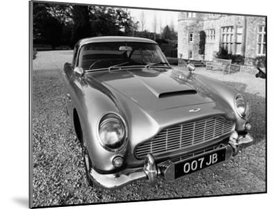James Bond's Aston Martin DB5, Used in the Film Goldfinger--Mounted Photographic Print