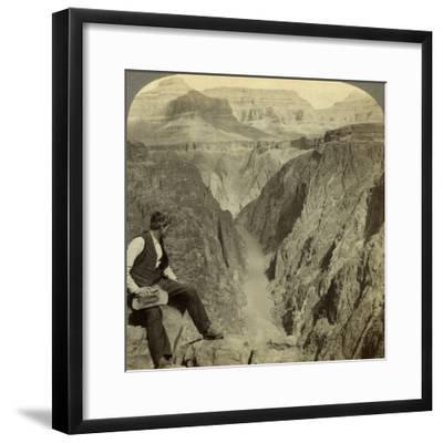 Colorado River, Grand Canyon, Arizona, USA-Underwood & Underwood-Framed Photographic Print