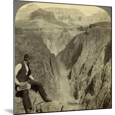 Colorado River, Grand Canyon, Arizona, USA-Underwood & Underwood-Mounted Photographic Print