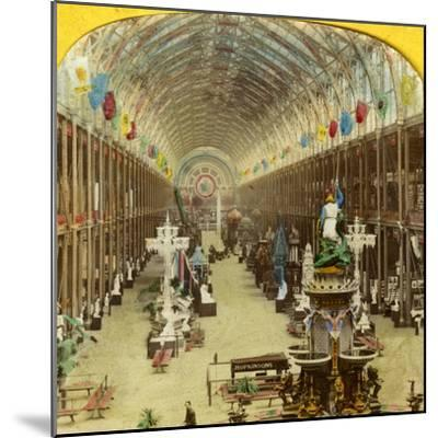 Interior View of the International Exhibition, London--Mounted Photographic Print