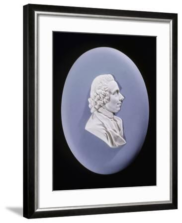 Wedgewood Plaque of Joseph Priestley (1733-180)--Framed Photographic Print