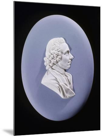 Wedgewood Plaque of Joseph Priestley (1733-180)--Mounted Photographic Print