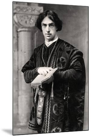 John Martin Harvey (1863-194), English Actor, 1907- Ellis & Walery-Mounted Photographic Print