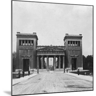 Propylaen, Munich, Germany, C1900-Wurthle & Sons-Mounted Photographic Print
