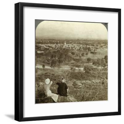 Pagodas, Mandalay, Burma, C1900s-Underwood & Underwood-Framed Photographic Print
