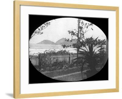 Guaruja, Sao Paulo, Brazil, Late 19th or Early 20th Century--Framed Photographic Print