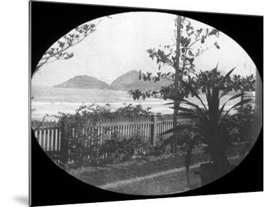 Guaruja, Sao Paulo, Brazil, Late 19th or Early 20th Century--Mounted Photographic Print