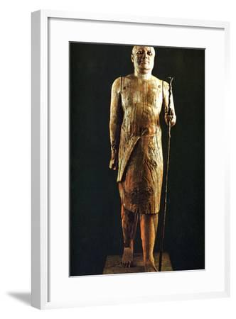 Figurine Statue, Egypt, 5th Dynasty--Framed Photographic Print