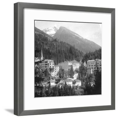 Schwarzenberg, Badgastein, Austria, C1900s-Wurthle & Sons-Framed Photographic Print