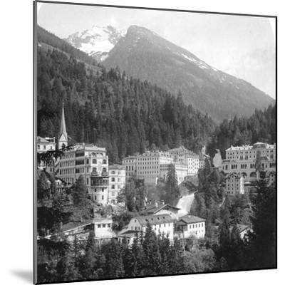 Schwarzenberg, Badgastein, Austria, C1900s-Wurthle & Sons-Mounted Photographic Print