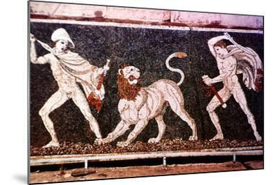 The Lion Hunt, 4th Century Bc--Mounted Photographic Print