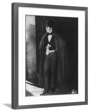 Rudolph Valentino (1895-192), Italian Actor, C1920s--Framed Photographic Print