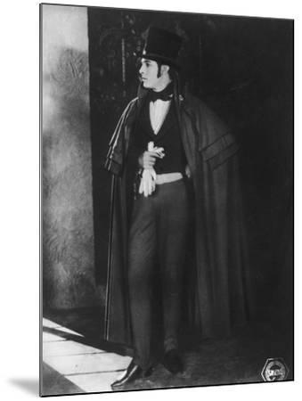 Rudolph Valentino (1895-192), Italian Actor, C1920s--Mounted Photographic Print