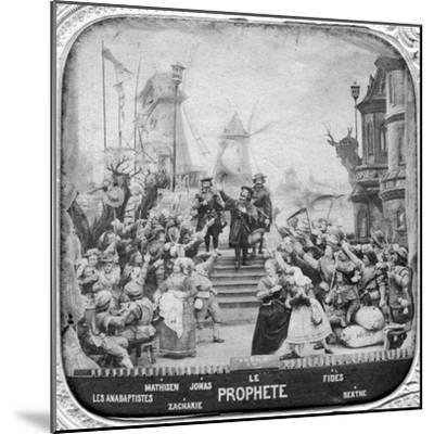 Le Prophète, Opera, Late 19th Century--Mounted Photographic Print