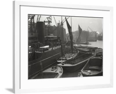 Entrance to St Katharine's Dock, London, C1925--Framed Photographic Print