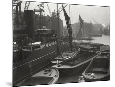 Entrance to St Katharine's Dock, London, C1925--Mounted Photographic Print