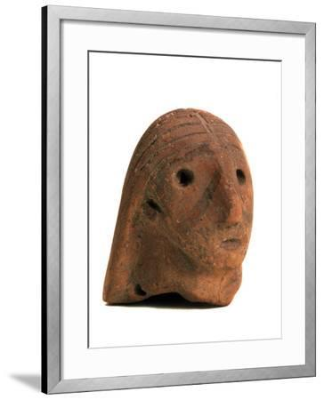 Female Head, 2nd Half of the 3rd Millenium BC--Framed Photographic Print