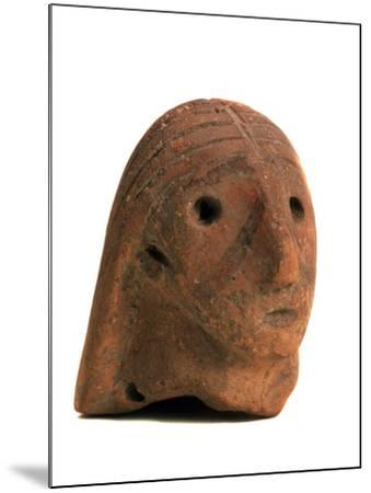 Female Head, 2nd Half of the 3rd Millenium BC--Mounted Photographic Print