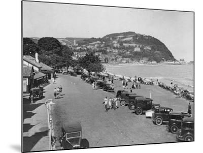 Seaside Resort of Minehead, Somerset, Early 1930s--Mounted Photographic Print