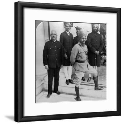 The Maharaja of Gwalior at Home, Madhya Pradesh, India, C1900s-Underwood & Underwood-Framed Photographic Print