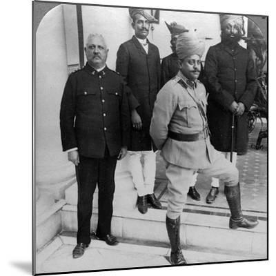 The Maharaja of Gwalior at Home, Madhya Pradesh, India, C1900s-Underwood & Underwood-Mounted Photographic Print